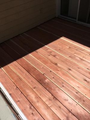 Photo Wood Deck