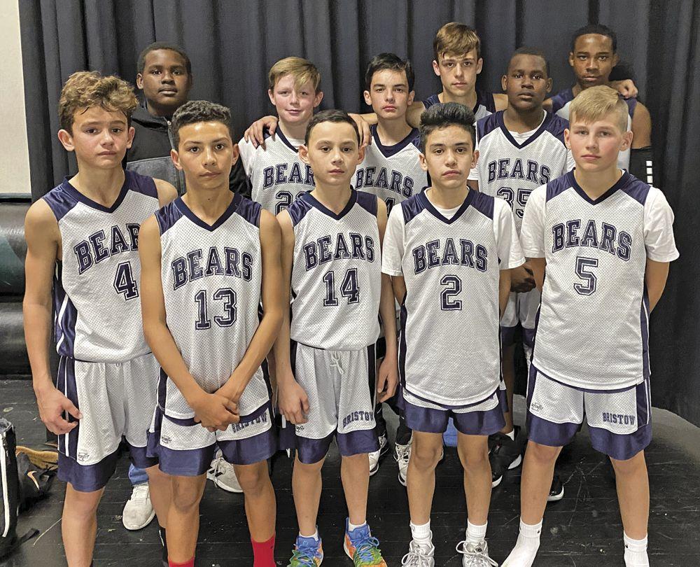 Bristow seventh-grade team