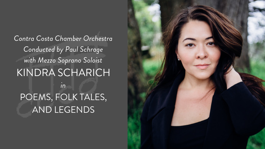 "Contra Costa Chamber Orchestra ""Poems, Folk Tales, and Legends"""