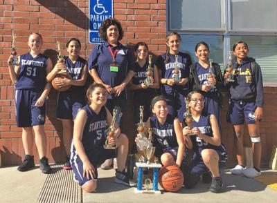 St. Anthony's girls' basketball sixth-grade team wins CYO National League Championship
