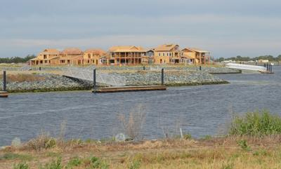 Delta Coves homes nearing completion