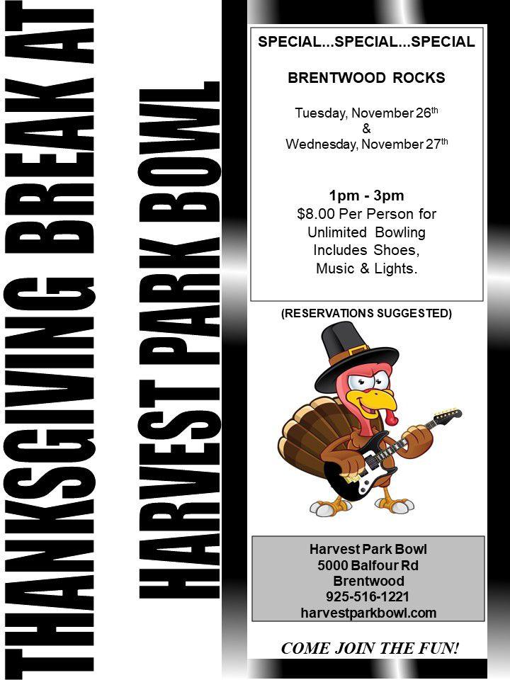 Thanksgiving Break Brentwood Rocks
