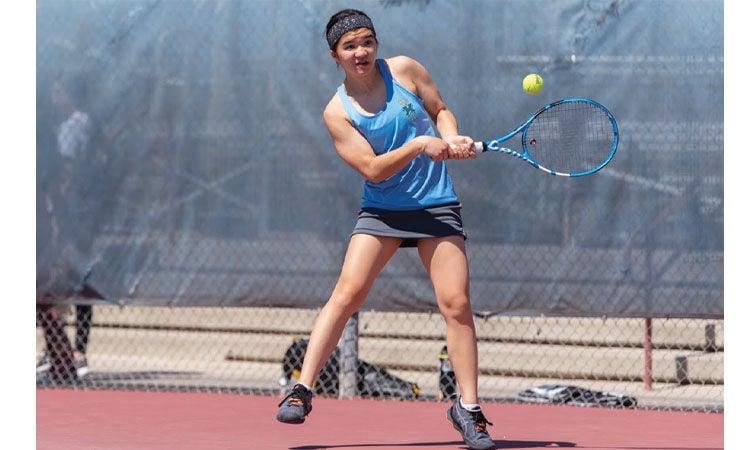 Tennis champions -  Erin Crane