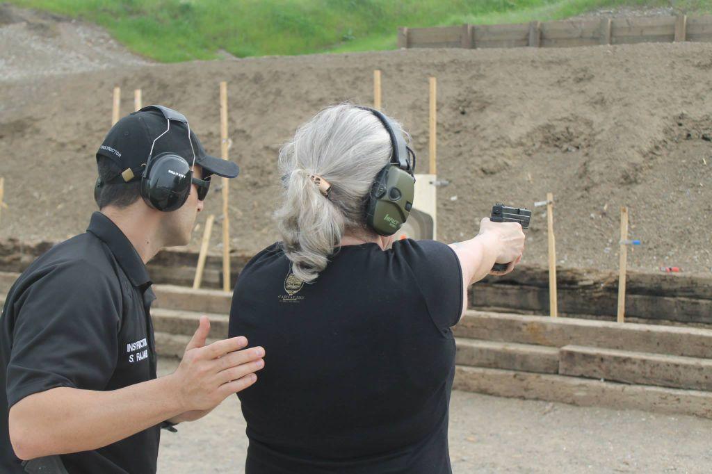 Delta Tactical Training Group instructor Shawn Rajabi