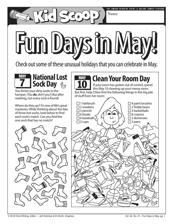 Fun Days in May