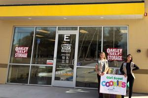 Oakley Self Storage is Proud to Support Troop 30392 With Their Girl Scout Cookie Fundraiser