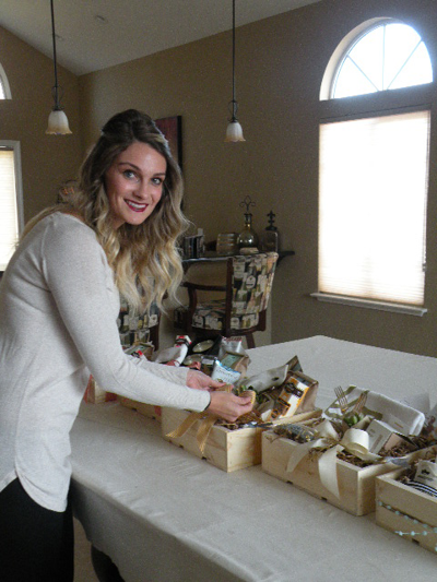 Creative gift boxes come packed with custom holiday cheer at Box + Bow
