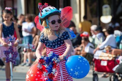 Celebrating the Fourth of July celebration