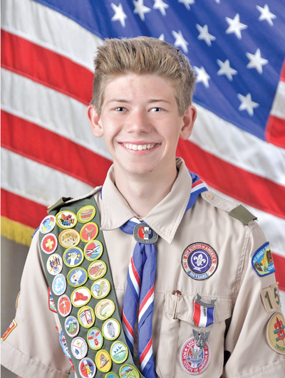 Eagle Scout Anthony Parsons