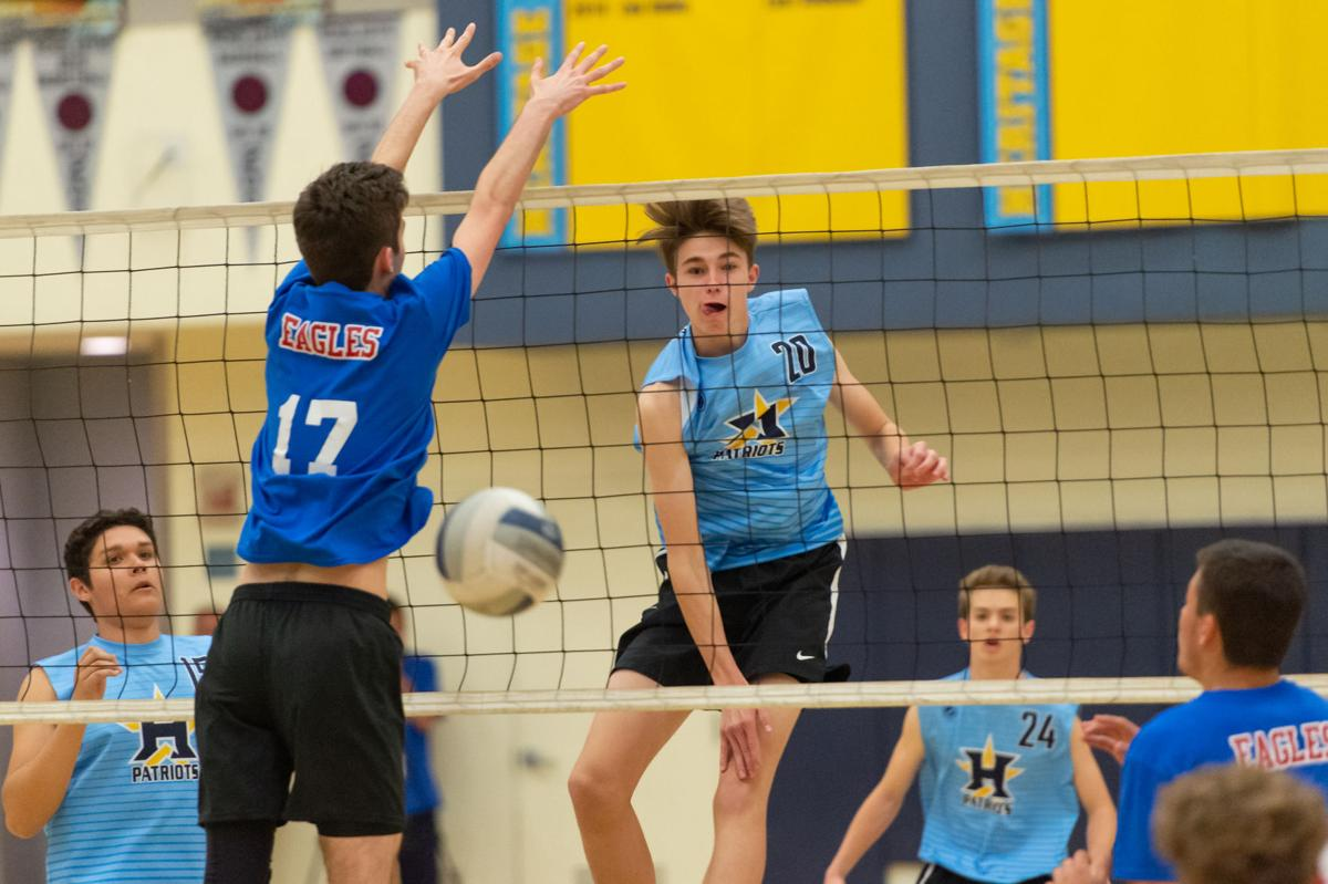 SP Boys volleyball NCS round 1