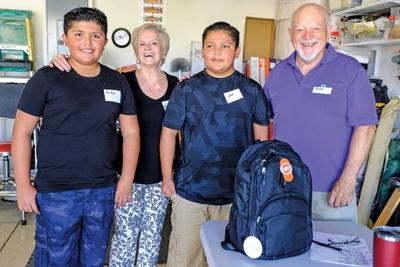Trilogy group raises funds for student supplies