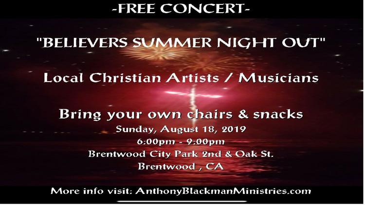 Believers Summer Night Out