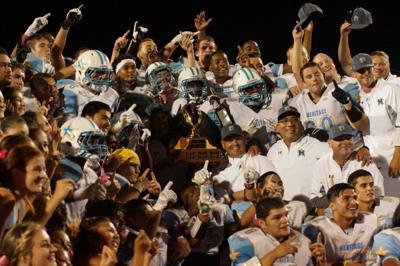 Heritage football team wins Brentwood Bowl