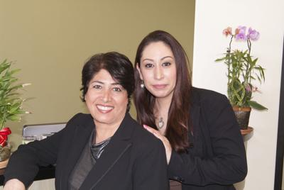 Dr. Maryam Khakpour DDS and Paulette Sirot