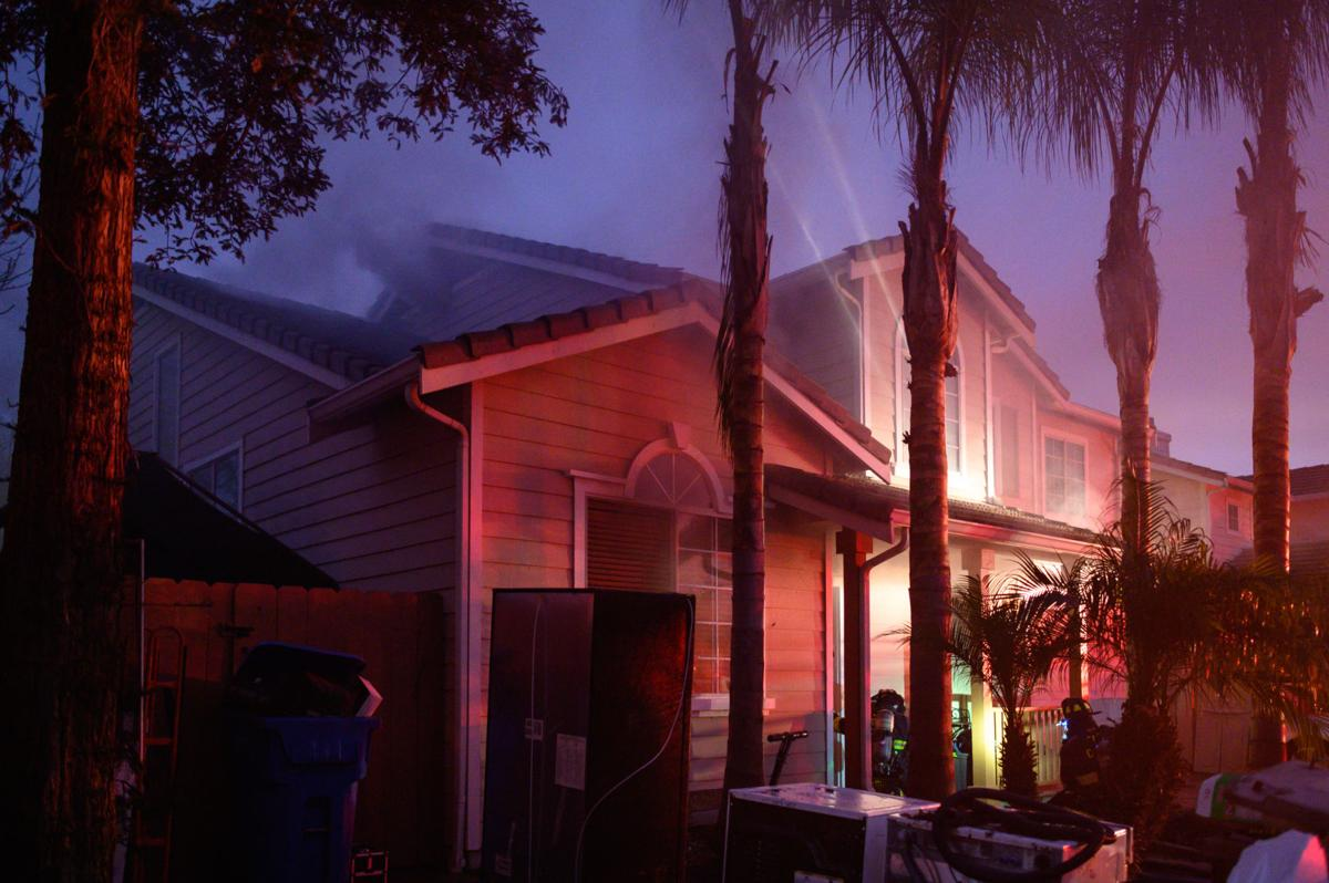Brentwood residential fire