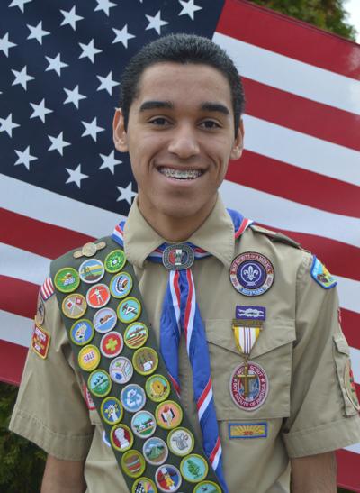 Mateo Espinoza earns Eagle Scout rank