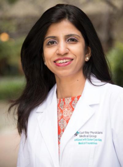 Dr. Neha Nainani of Sutter East Bay Medical Foundation