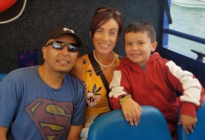 Oakley Elementary School teacher Gina Minder-Maldonado