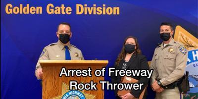 Freeway Rock Thrower