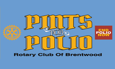 Rotary brew fest to raise funds for polio eradication