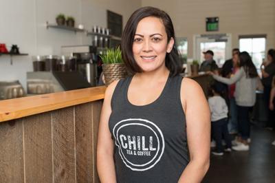 Yvette Gomez of Chill Tea and Coffee
