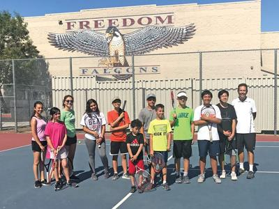 Freedom High serves up tennis camps