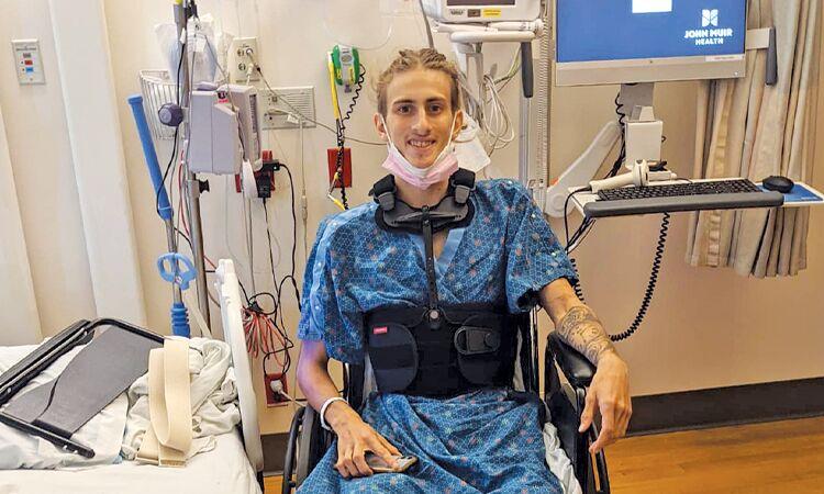 Young victim faces long recovery - Jordan Glen