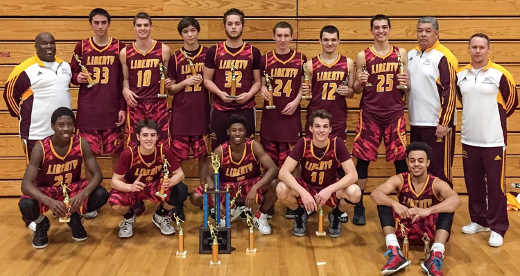 Liberty Lions Boys Basketball Team Wins At Tracy West