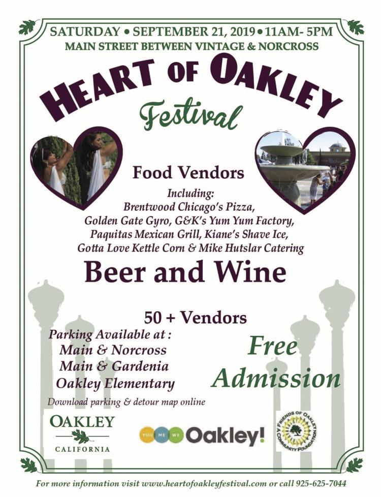 Heart of Oakley Festival
