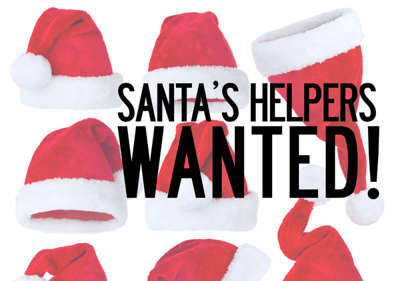 Santa's helpers wanted!