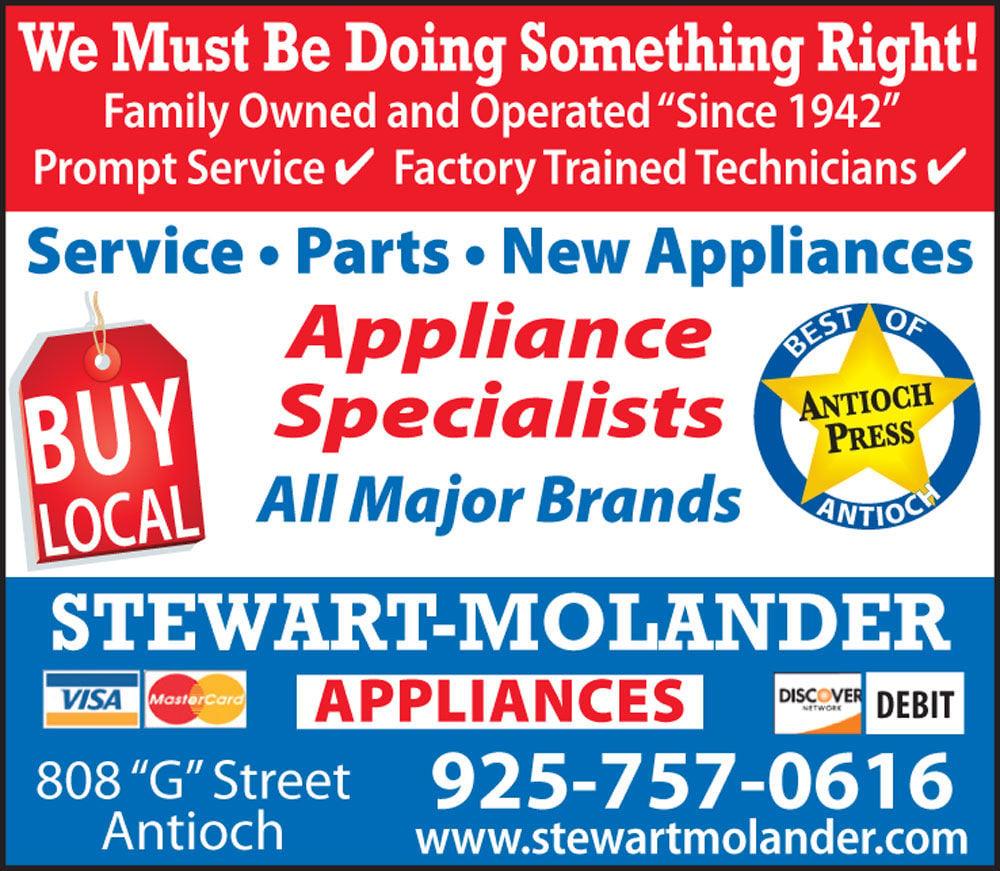 Stewart - Molander Appliances