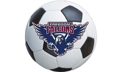Freedom Falcons soccer logo
