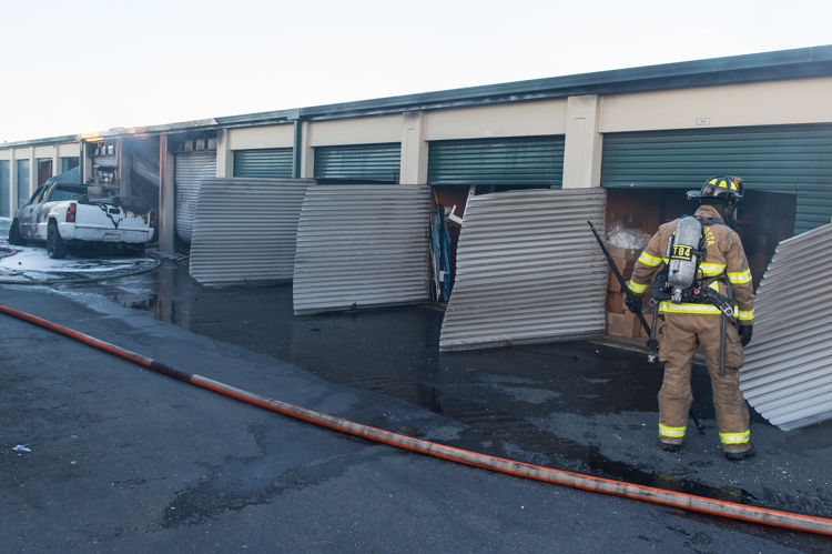 Fire Goes To Two Alarms At Antioch Mini Storage Antioch