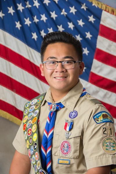Heritage High School senior Jose Kyle Yap Saucelo