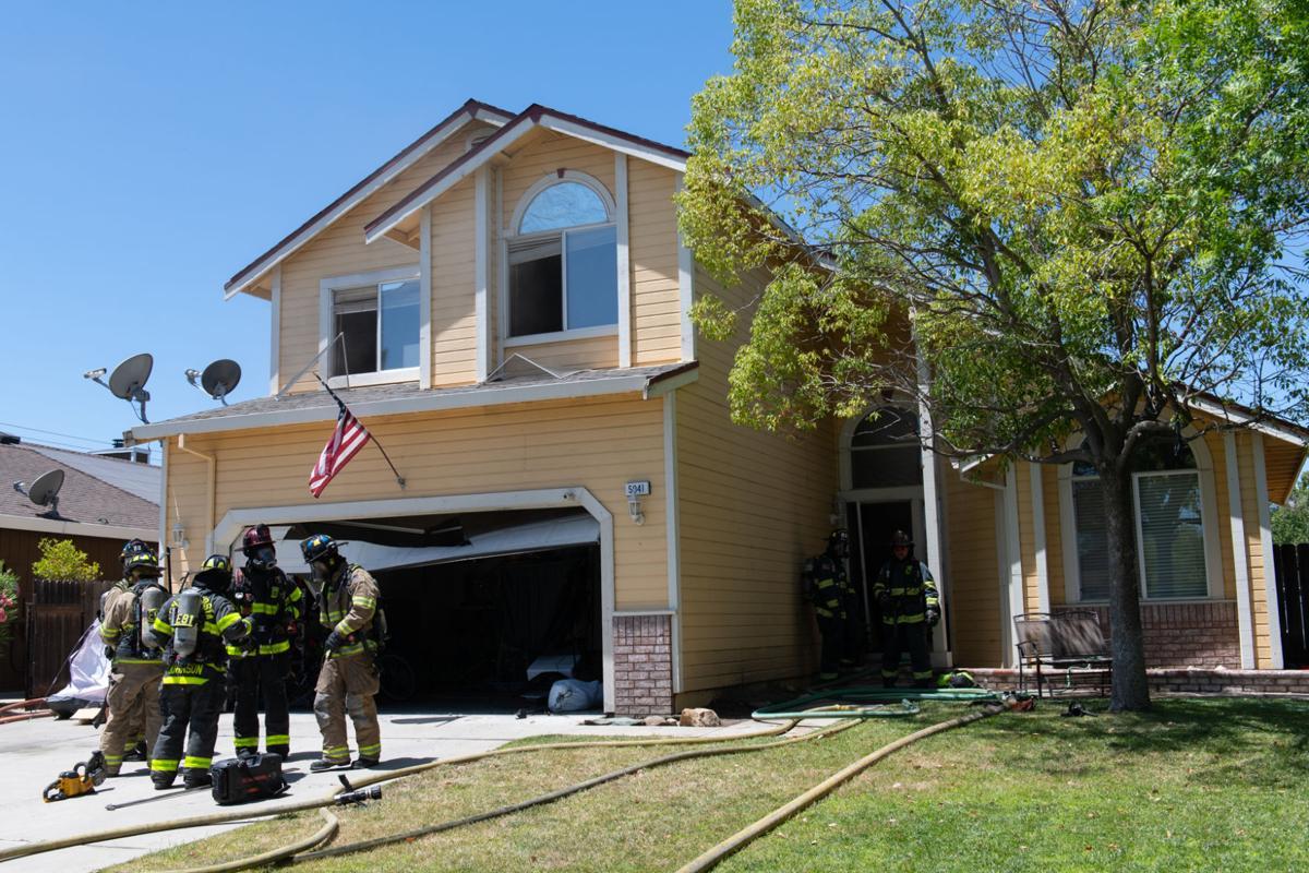 Oakley residential fire