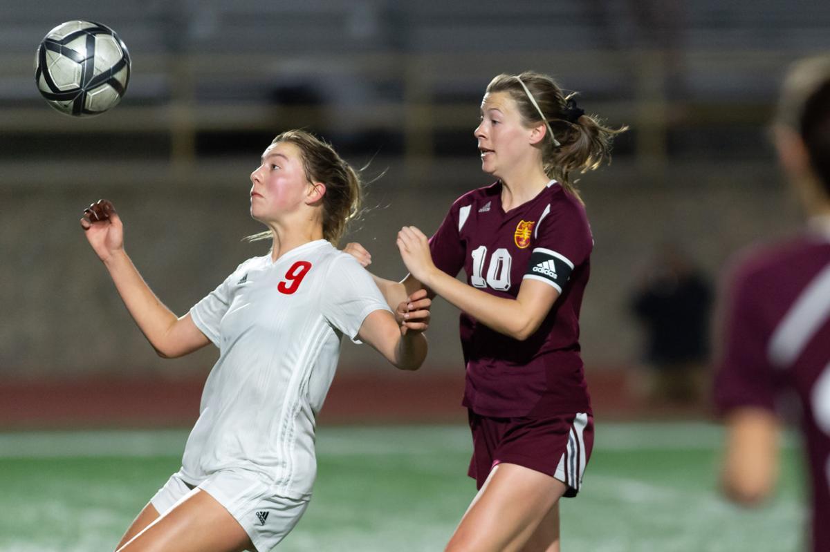 LHS v BHS girls soccer