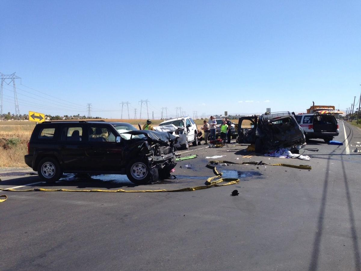 Multi Car Accident On  East Today