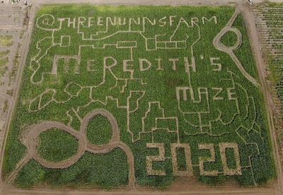 Three Nunns Farm corn maze