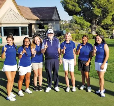 Heritage girls' golf wins 7th straight BVAL title