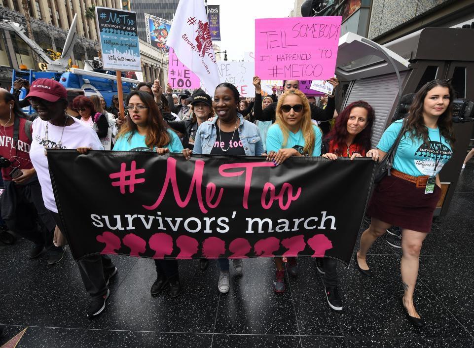 Me too survivors march