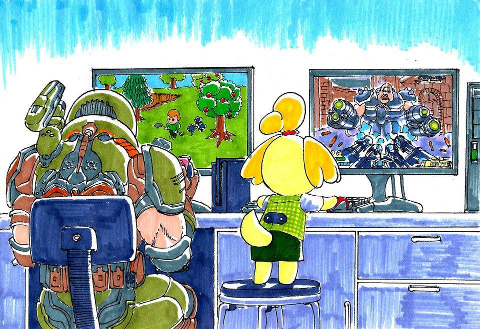 An Eternal Island Doom Eternal Animal Crossing S Fanbase Friendship Arts Entertainment Therotundaonline Com