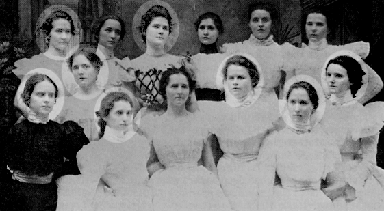 Lack of diversity in the 1800s
