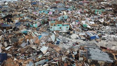 Hurricane Dorian in the Bahamas