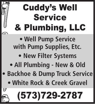 Cuddys Well Service & Plumbing LLC