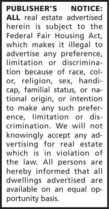 Publishers Notice-The Salem News