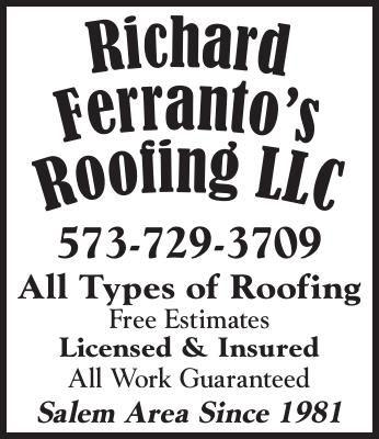Richard Ferranto's Roofing LLC