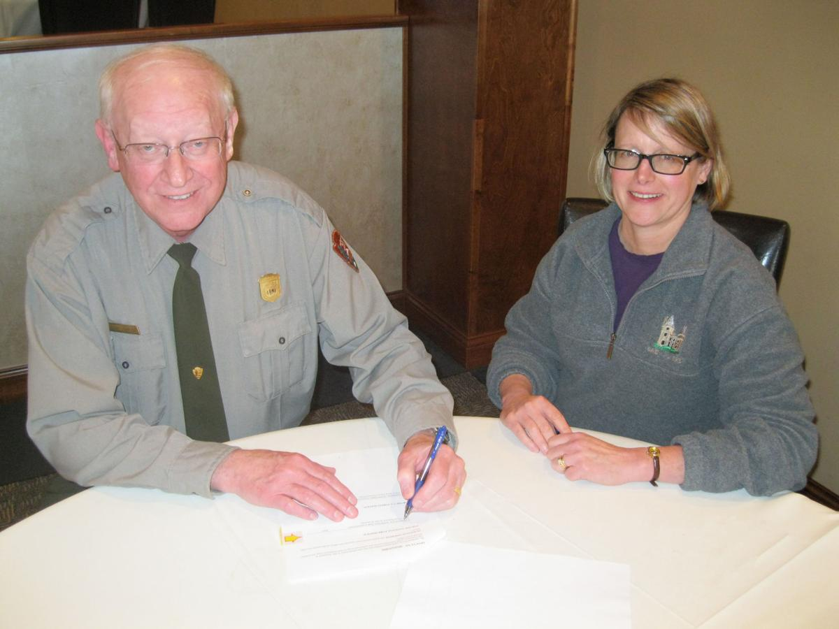Service First Agreement Signed Between National Park
