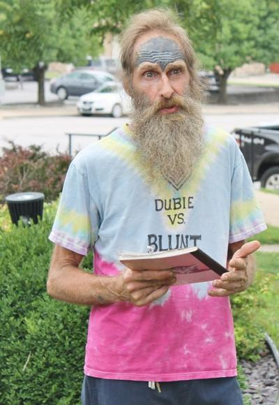Political activist Chief Wana Dubie announced he is running for the United States Senate