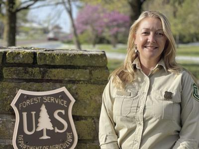 Salem District Ranger Michelle Capp of the Mark Twain National Forest Service.