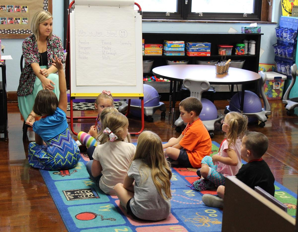Kindergarten First Day Multimedia Thesalemnewsonline Com